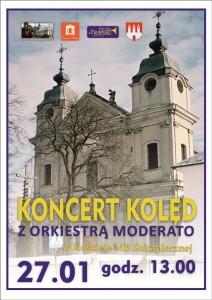 Plakat Koncertu w MB Szkaplerznej ZM