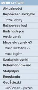 07 - Zdjecie geocaching - menu glowne