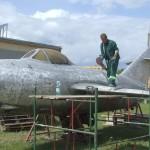 Samolot poddany gruntownej renowacji