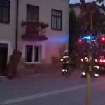 Esplozja gazu w centrum Warki