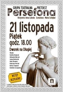 Plakat - Persefona JPEG