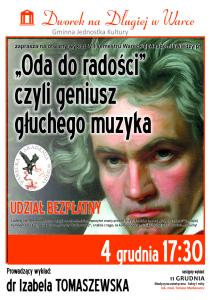 4 grudnia plakat WAW Beethoven