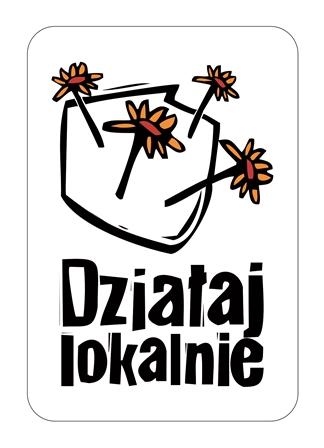 Logo DZIALAJ LOKALNIE z ramka zm