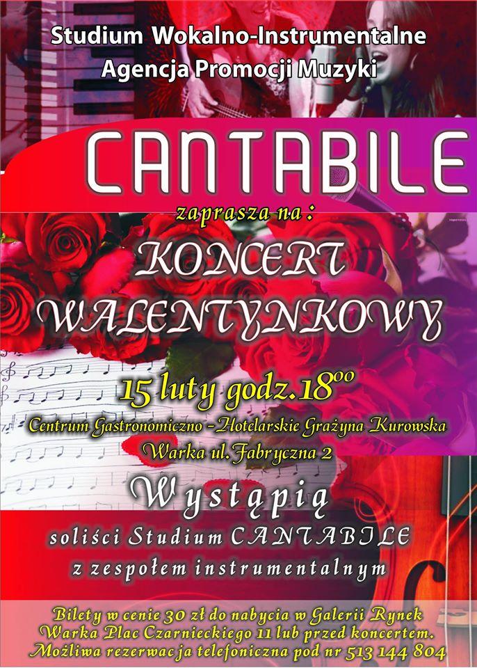Cantabile - plakat