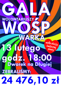Gala Wosp Warka 23 final