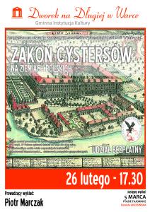 plakat WAW_Cystersi - 2