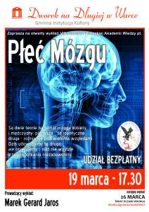 plakat WAW_PLEC Mozgu
