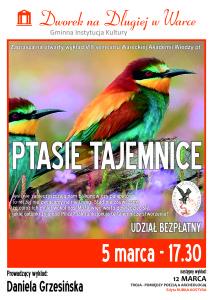 plakat WAW_Ptasie Tajemnice