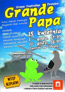 Plakat - Grande Papa