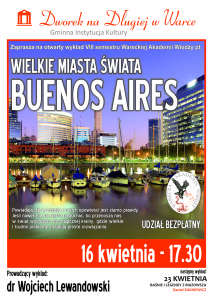 plakat WAW_Buenos Aires