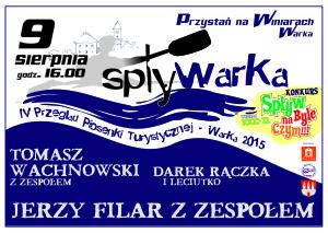 Plakat SPLYWARKA 2015-pom