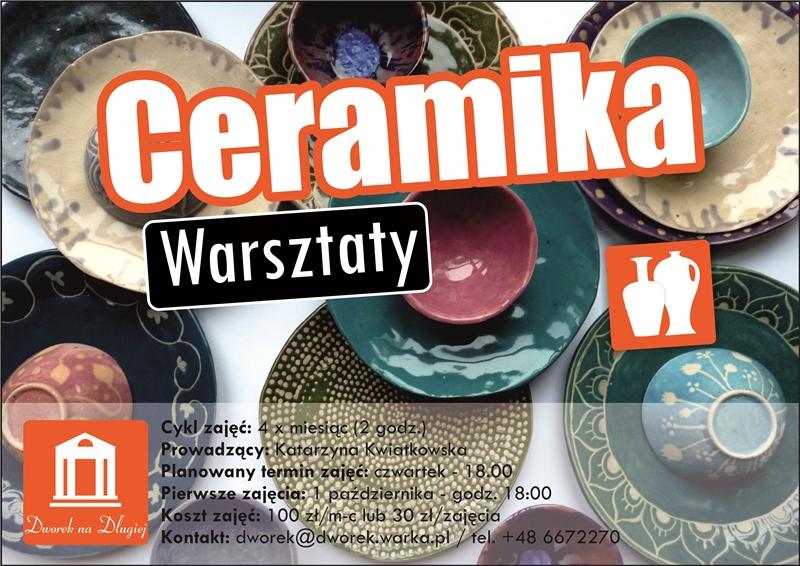 Ceramika - plakat zm