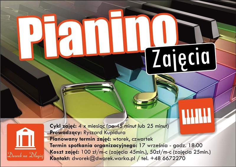 Pianino - plakat zm