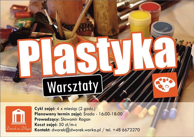 Plastyka - plakat zm