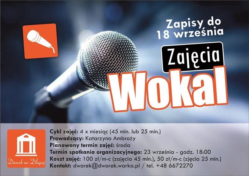 Wokal - plakat zm