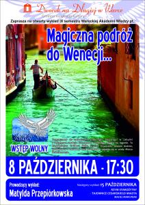 Plakat WAW - Wenecja