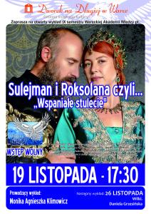 Plakat WAW - Sulejman