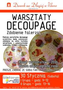 Plakat ROBOTKOWO - Talerzyk