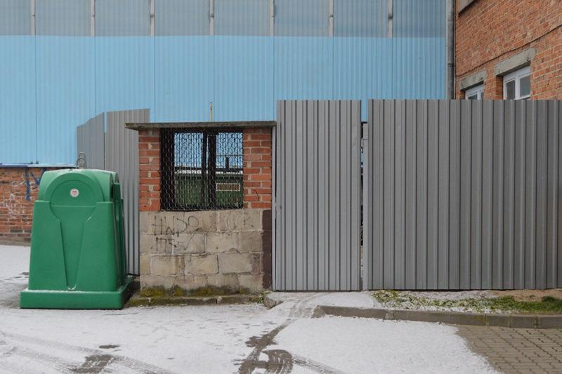 fot. 11. zabezpieczony teren przy stacji redukcji gazu - POZIOM zm