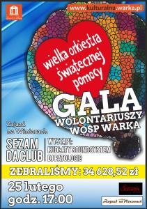 GALA WOŚP 2016