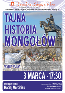 Plakat Mongolowie