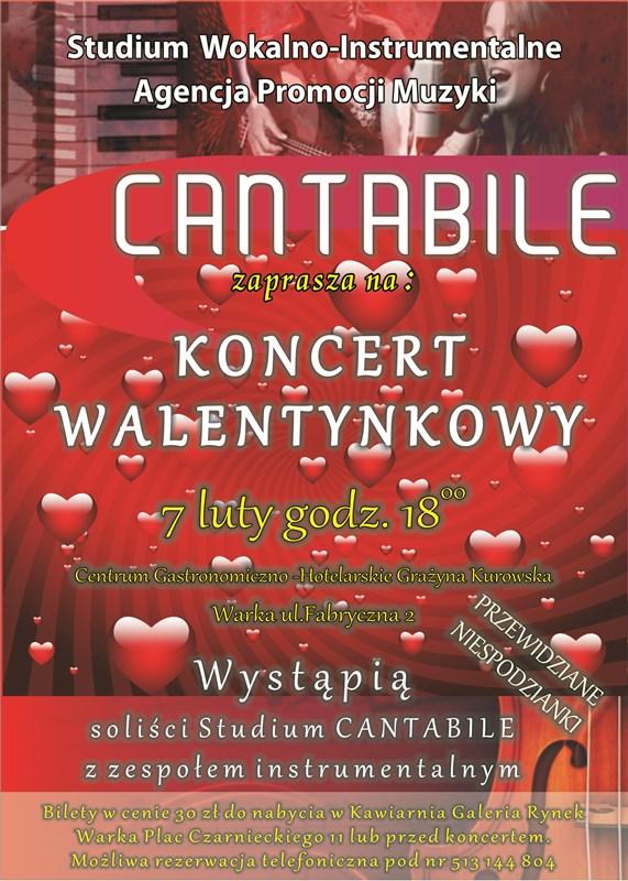 Plakat Walen Cantabile zm