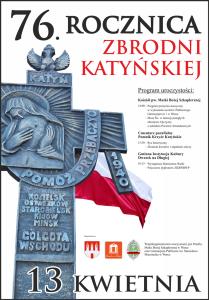 Plakat Katyn zm