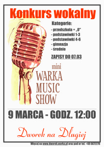 Plakat mWMS - 9 marca 2016