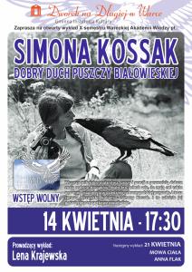 Plakat Simona Kossak